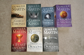 Game of Thrones Book's 1-7