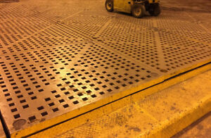 USED ACORN WELDING TABLES SECTIONS AVAILABLE OF 5' X 5' X 6""