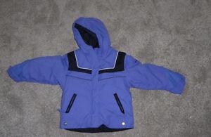 Winter coats, size 3T - 4T (Columbia $ 15, Joe $ 8) Kitchener / Waterloo Kitchener Area image 1