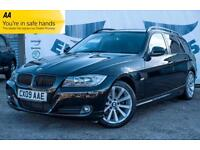 2009 BMW 3 SERIES 320D SE TOURING ELECTRIC PANORAMIC SUNROOF PRIVACY GLASS FULL