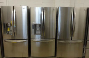 GREATEST STAINLESS STEEL FRIDGES WITH 1 YEAR WARRANTY