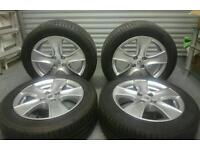 Renault Clio mk4 Alloy Wheels with Tyres