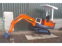 1.5 tone mini digger hire