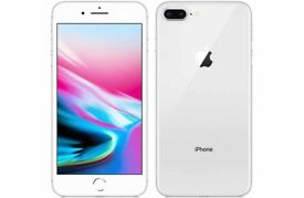 BRAND NEW IPHONE 8 PLUS 256GB SILVER FACTORY UNLOCKED APPLE REPLACEMENT