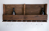 Pallet Wine Rack - Free Delivery From Victoria to Comox