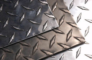 ALUMINUM & STAINLESS – Sheets Plates Tread / Checker Plates