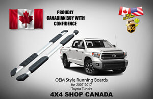 Toyota Tundra OEM Style Running Boards Side Step Bar