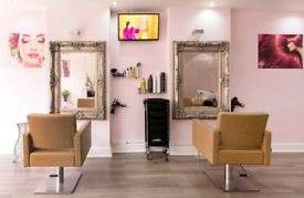 Hairdressing Chair/ Nail Table & Beauty Room available FOR RENT!