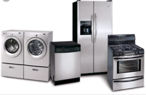 Getting new appliances? We pickup unwanted ones free !