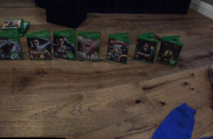 XBOX 1 GAMES 10 each or 70 for all