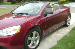 G6 Red Hard Top Convertible