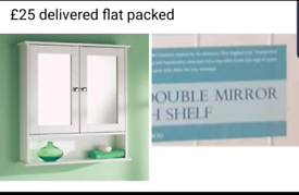 New mirrored dressers