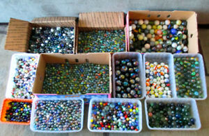 MARBLES  For Sale - 100 lbs.@ $6. lb.
