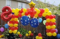 Party Decoration..birthdays..special events