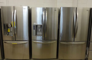 STAINLESS STEEL APPLIANCES WITH FREE DELIVERY FRIDGES STOVES