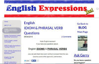 Visit my Free English Question & Answer BLOG
