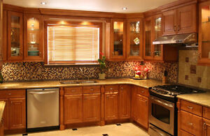 BIG SALE OF KITCHEN CABINETRY AND QUICK INSTALLATION