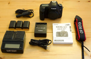 CANON 6D (BODY) - PERFECT CONDITION - MORE INCLUDED