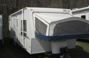 rv travel trailer Jayco Jay Feather 26L  Sleeps 8-9 quad bunks