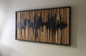 Reclaimed wood picture