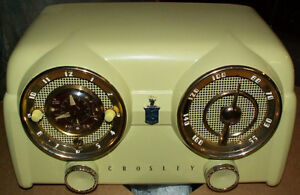 WANTED CROSLEY BAKELITE TUBE RADIOS
