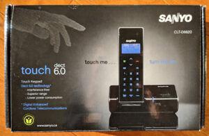 Sanyo CLT-D6620 Touch DECT 6.0 - téléphone sans fil