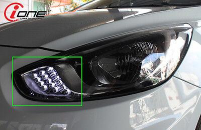 2way Front Headlights LED turn Module Fits: Hyundai 2011-14 Accent Solaris 4Door