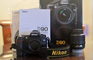 Nikon D90 with 18-55mm VR f/3.5.6G lens