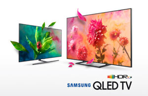 "32""- 82"" Samsung QLED 4K UHD HDR TV/LED Smart HD TV from $199"