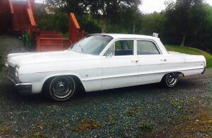 64 impala 4 door low rider