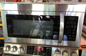 Stainless Steel LG Microwave Oven