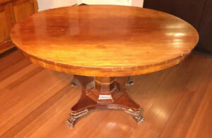 Antique Wood Table for Sale