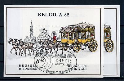 BELGIEN BL 53 ESST BELGICA POSTKUTSCHE ME 11 130651