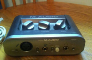 M Audio Fast Track Digital Audio Interface