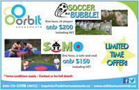 Bubble Soccer and Sumo Suit Rental Specials