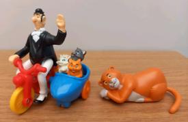 Vintage Disney Aristocats figures