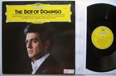 33T LP Best Of Domingo 1982 GERMANY Deutsche (Best Deutsche Grammophon Recordings)