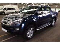 2016 BLUE ISUZU D MAX 2.5 TD UTAH HUNTSMAN 4X4 CREW CAB CAR FINANCE FR 71 PW