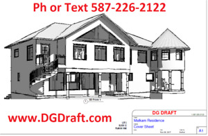 Drafting design plans kijiji in alberta buy sell save with design drafting services for house plans and renovations revit malvernweather Choice Image