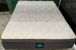 Excellent Sleep Maker Brand thick Pillow top double bed mattress