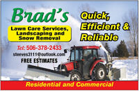 Snow Removal West End/St. George Blvd/Killam Dr and areas