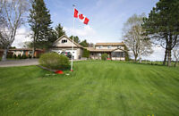 2 STOREY 5 BED BEAUTY W/GARAGE FOR 6 CARS ON 1 ACRE
