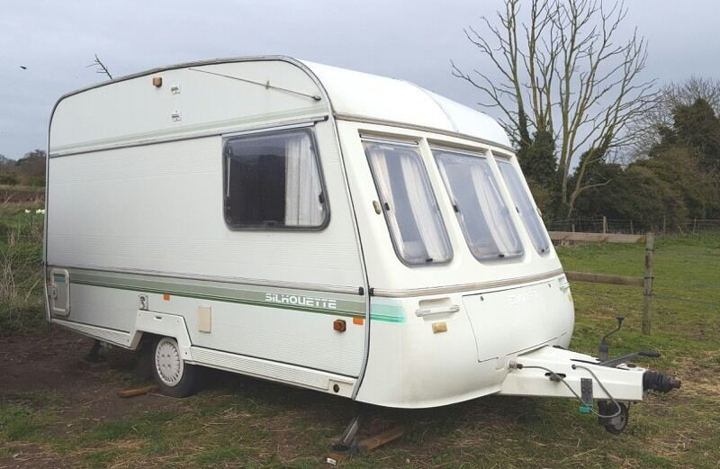 caravan kitchen sinks 1992 2 berth silhouette touring caravan in 1992