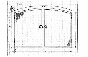 Custom Fireplace Doors, Screens, Grates, Mantel & Tools Kingston Kingston Area image 9