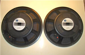 Two JBL Newly Reconed Fifteen inch Bass Speakers E140 8 ohm