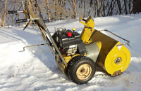 11 HP Sears Craftsman Snowblower for Sale