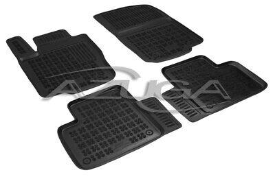 3D Gummi-Fußmatten für Mercedes M-Klasse ML W166 11/2011-6/2015 GLE ab 7/2015