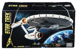 STAR TREK MEGA BLOKS COLLECTOR'S SET
