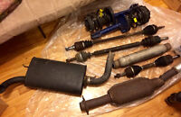 Neon parts CHEAP! Muffler Resonator Suspension New!