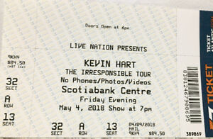 Ticket to Kevin Hart at Scotiabank Centre